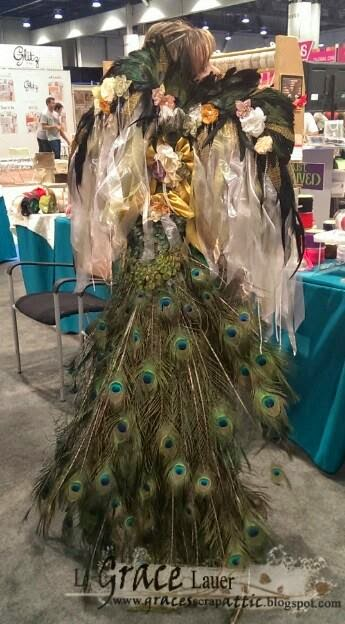 http://thecraftys.com/peacock-couture-wings-tail-crown-altered-dress/
