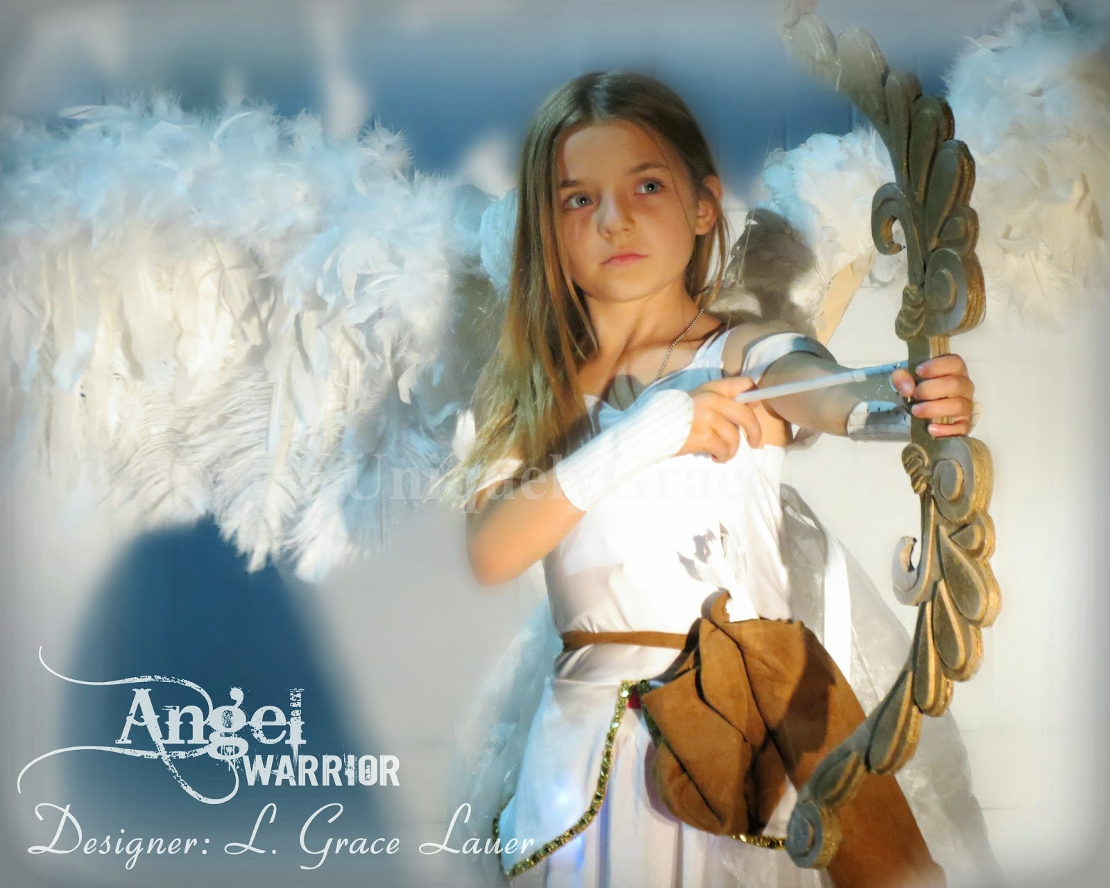 Angel Warrior Costume With Articulated Wings U2013 Halloween/Christmas (video  Included)