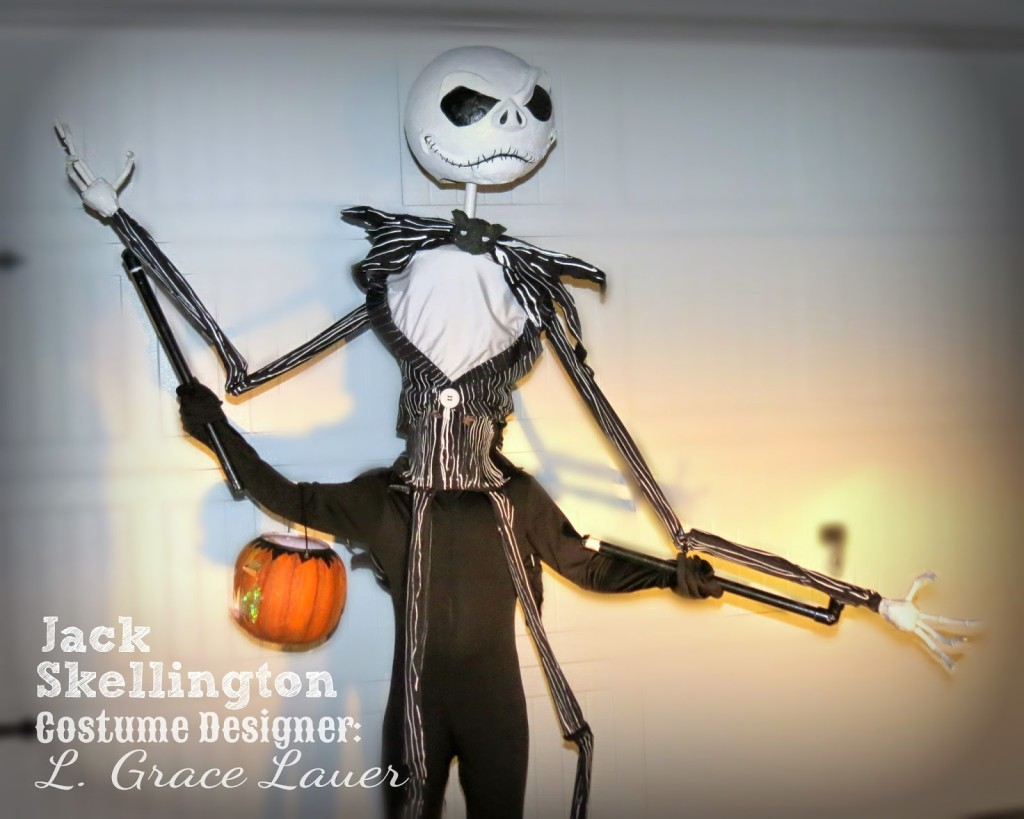 Jack Skellington Handmade Costume - Nightmare Before Christmas ...
