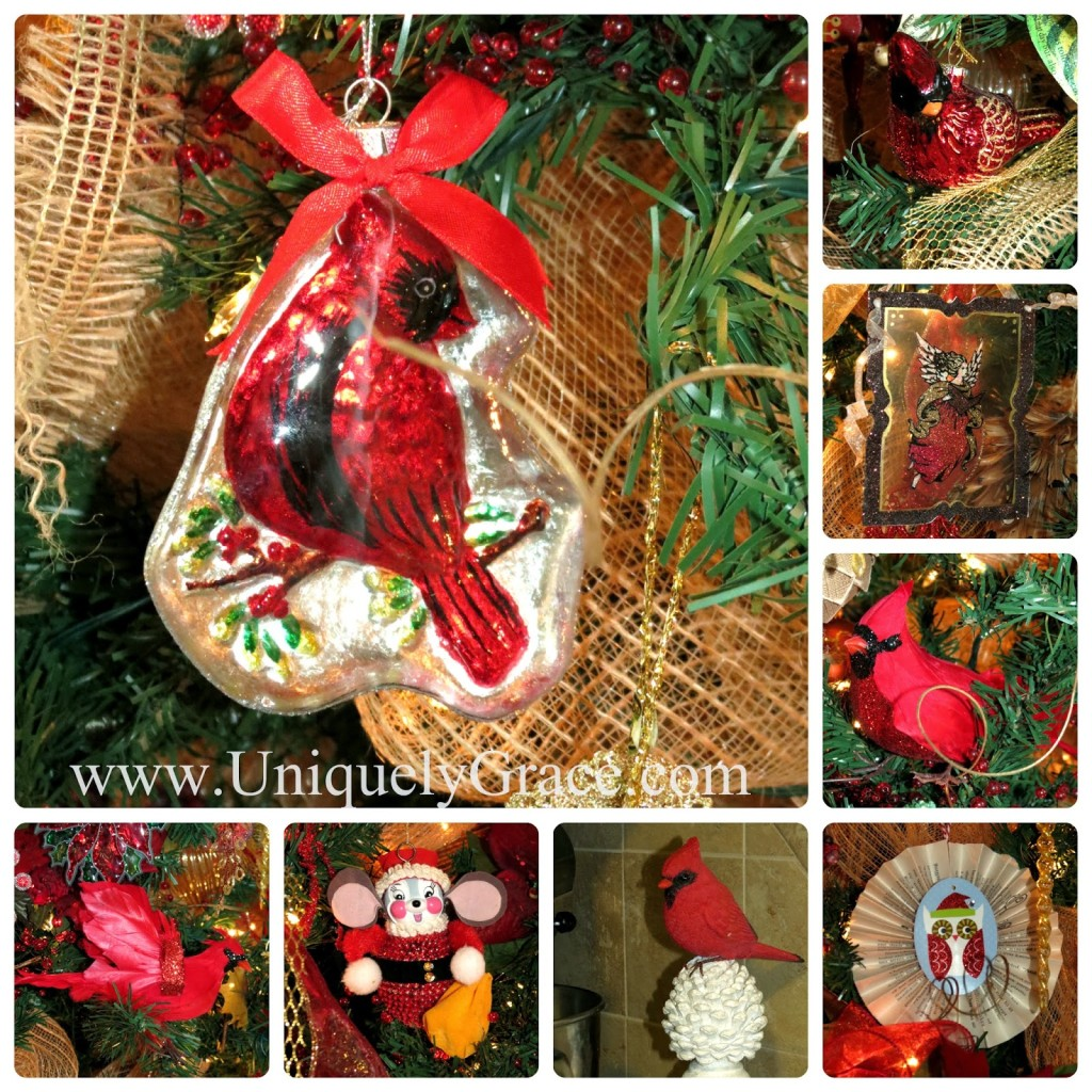 Bicycle Christmas Tree Decorations Ornaments: A Lauer Christmas Home Tour