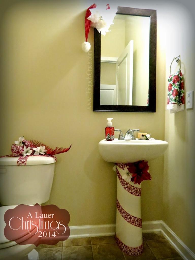 A Lauer Christmas Home Tour - Cardinals, Candy canes & Burlap ...