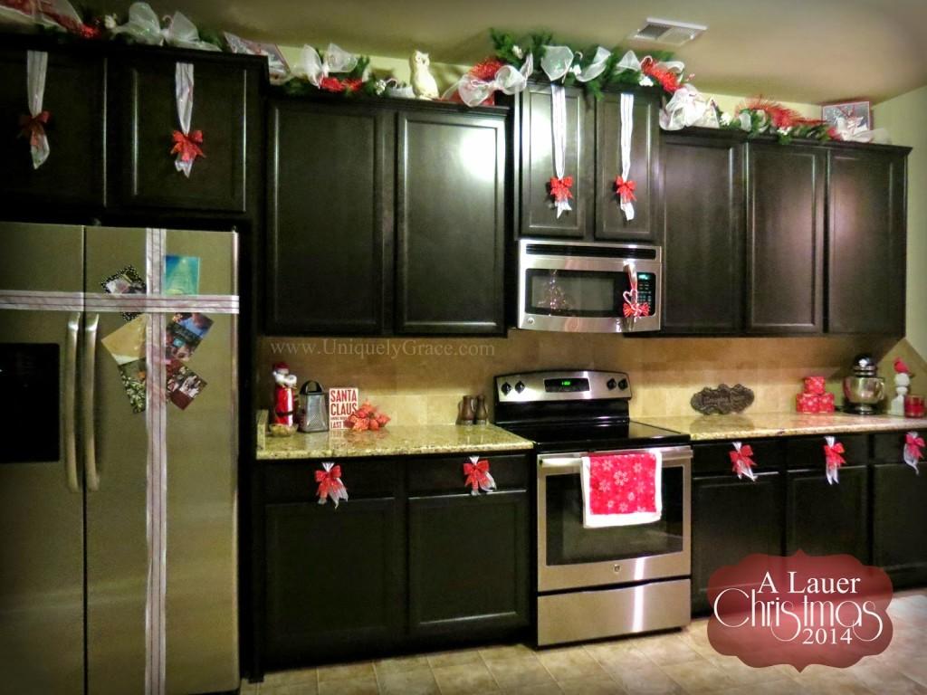 Christmas kitchen decor - The Kitchen