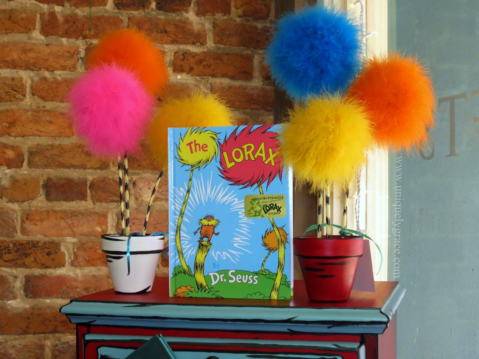 Dr Seuss Lorax Inspired Truffula Tree Seedlings Diy