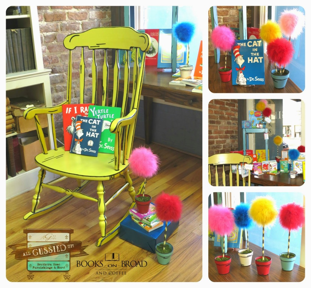 Illustrated 3D Rocking Chair U2013 Chalk Painted Furniture Flip! Looks Like It  Came Right Out Of A Book!