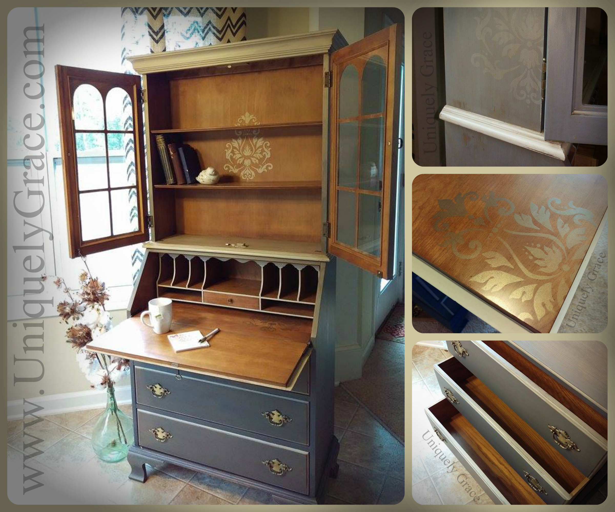 Anastasia Shades grey cali Taupe licorice old gold shimmer vax shabby chalk paints jasper cabinets uniquely grace lauer