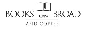 books on broad logo white background