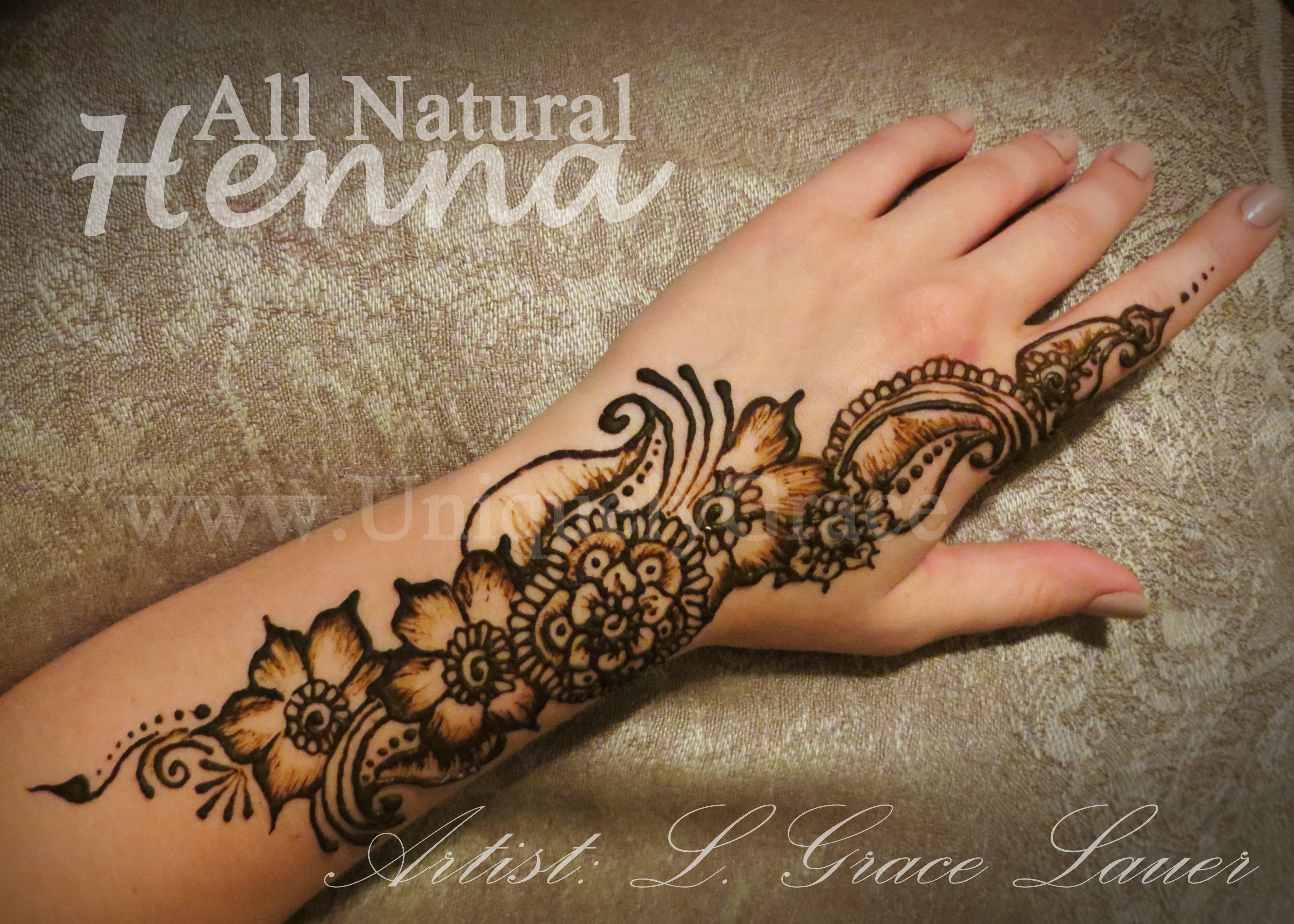 Henna Wrist Drawings: Uniquely Grace Designs