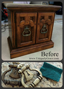 Classy in Cali Taupe – Chalk Paint & Nightstands Makeover