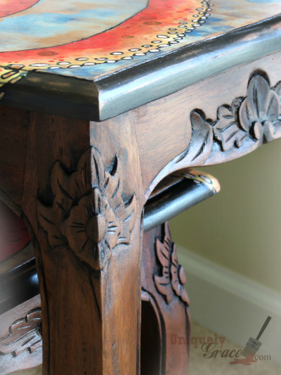 Three Nesting Tables And An Octopus