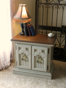 after vintage night stand cali toupe
