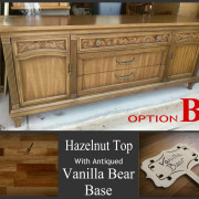 option B drexel buffet Vanilla bear