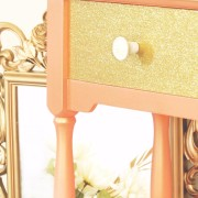 Callista Coral logo Paradise closeup Shabby Paints Chalk Homeright sprayer uniquely grace glitter drawer table obmre