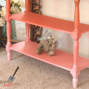 Callista Coral logo legs Paradise Shabby Paints Chalk Homeright sprayer uniquely grace glitter drawer table obmre