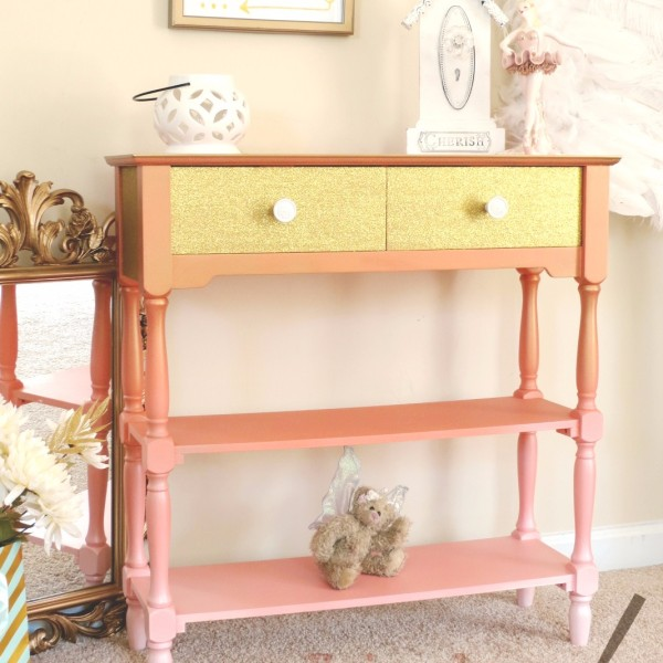... Two Drawer Console Table With Shelves. Callista ...
