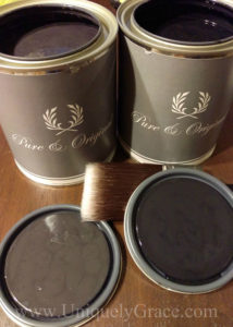 LOGO Pure Original balck truffle chalk paint uniquely grace sponsor