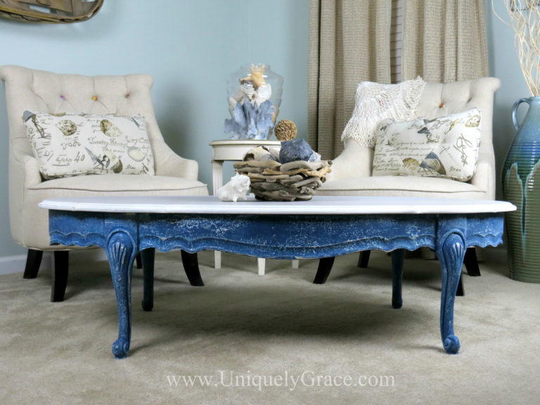 After blue french provincial coffee table refinishing uniquely grace with logo