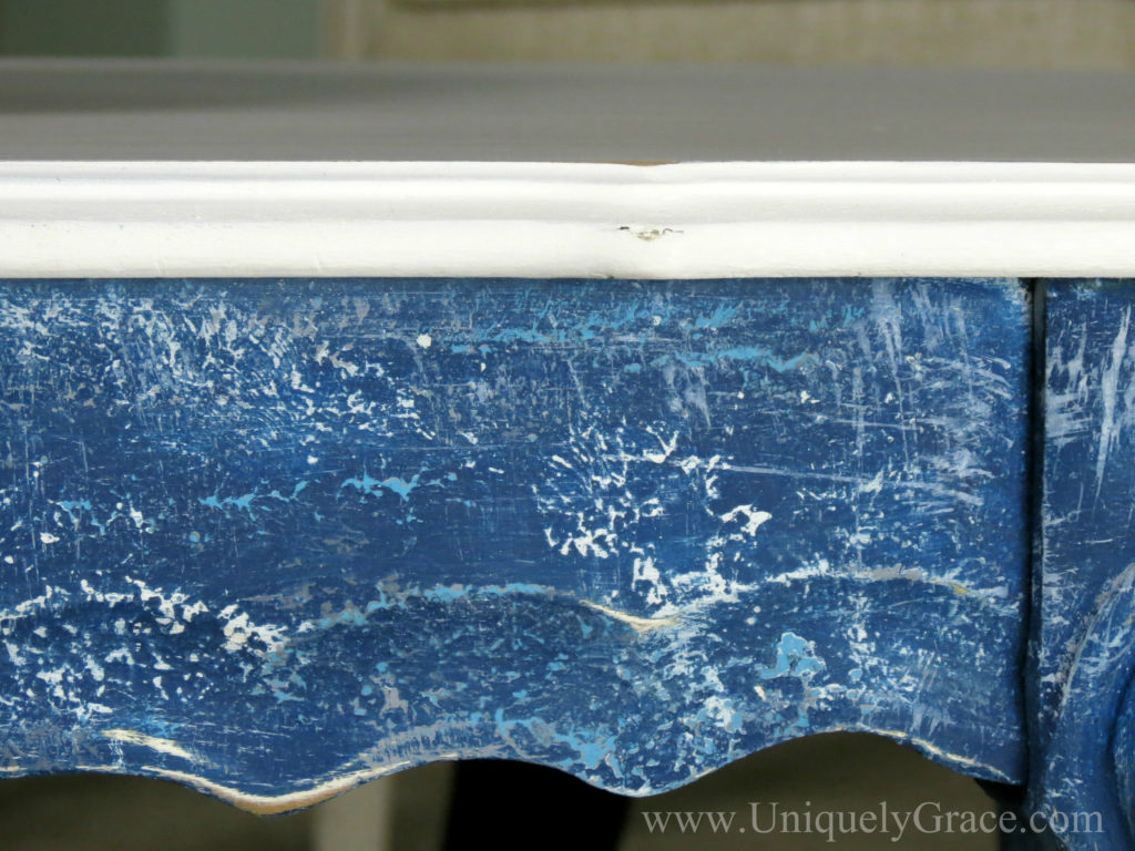 After blue skirt close up leg french provincial coffee table refinishing uniquely grace with logo