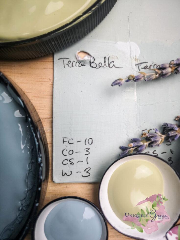 Light Sage Grey Chalk Paint Color Recipe